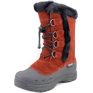Baffin Chloe Women 3A Round Toe Suede Brown Snow Boot