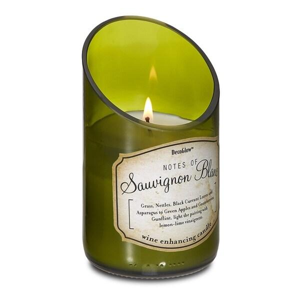 Antique Wine Bottle Sauvignon Blanc Scent Candle