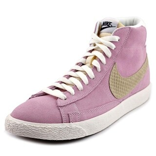 Nike Blazer Mid Prm Women Round Toe Synthetic Pink Sneakers
