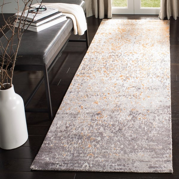 Safavieh Hand-knotted Expression Tonja Vintage Abstract Wool Rug