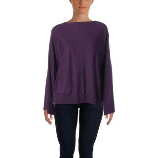 Lauren Ralph Lauren Womens Pullover Sweater Knit Dolman Sleeves - L