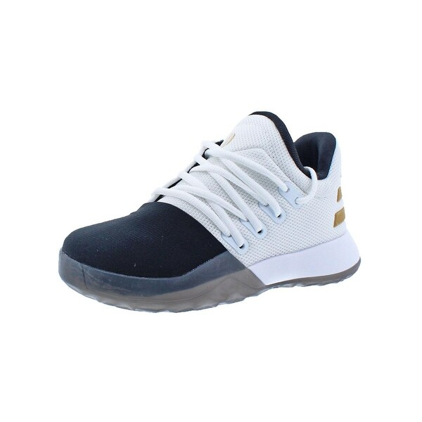 a4e9cb8de65843 Shop Adidas Boys Harden Vol. 1 C Basketball Shoes Colorblock Low-Top ...