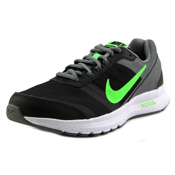 6dfa78fab8cf0 Shop Nike Air Relentless 5 Men Round Toe Synthetic Black Running ...