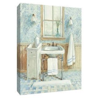 "PTM Images 9-154787  PTM Canvas Collection 10"" x 8"" - ""Victorian Sink I"" Giclee Bathroom Art Print on Canvas"