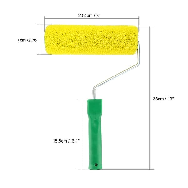 Shop 8inch Home Wall Sponge Paint Roller Painting Brush Cover Fame
