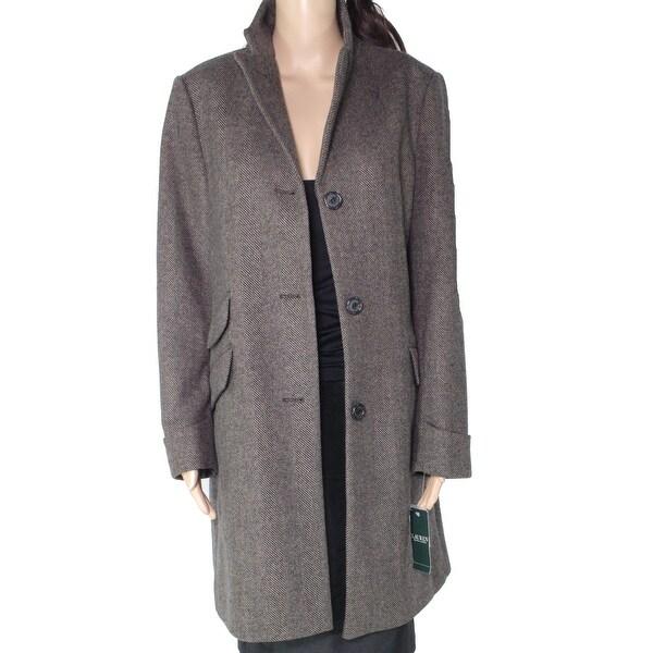 Lauren by Ralph Lauren Women's Jacket Brown Size 12 Trench Coat. Opens flyout.