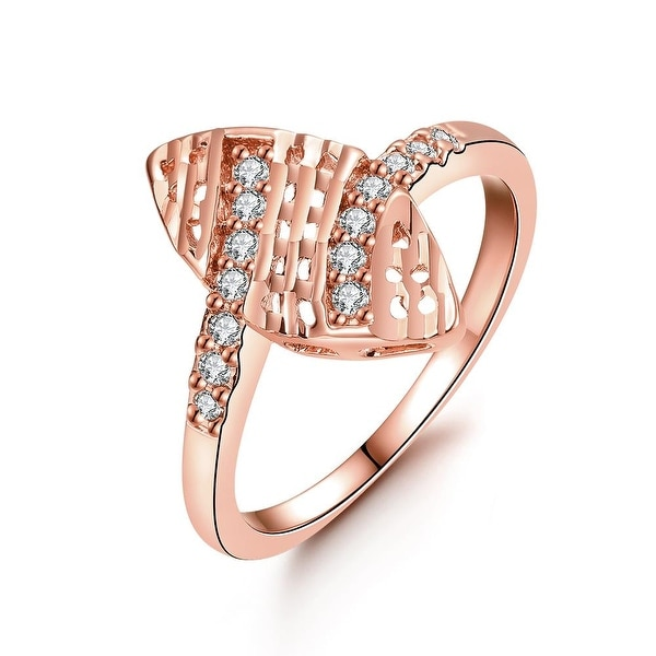 Orchid of Life Rose Gold Ring