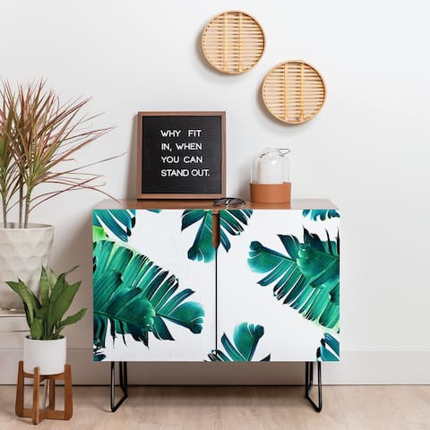 Deny Designs Banana Leaf Crush Credenza