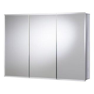 "Jacuzzi PD48000 26"" H x 36"" W x 5-1/4"" D Triple Door Medicine Cabinet - N/A"