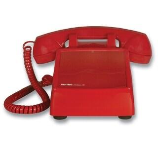 Viking Electronics VK-K-1900D-2M Hot line Desk Phone - Red