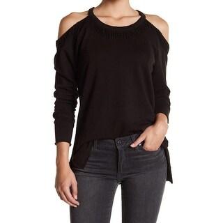 Joe's Deep Womens Medium Pullover Cold-Shoulder Sweater