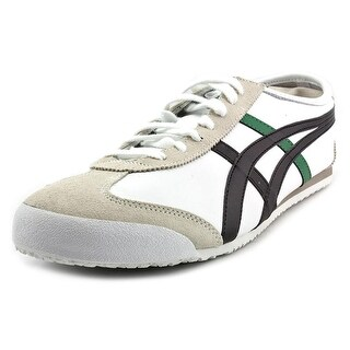 Onitsuka Tiger by Asics Mexico 66 Round Toe Leather Sneakers