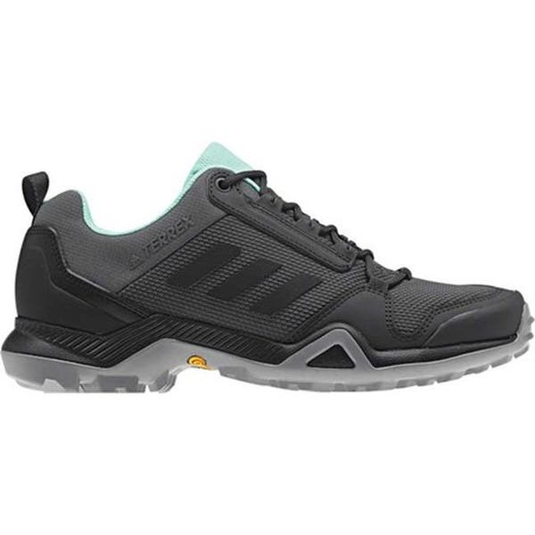 cd16000937f3b adidas Women's Terrex AX3 Hiking Shoe Grey Five/Black/Clear Mint. Image  Gallery