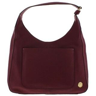 Vince Camuto Womens Adria Hobo Handbag Leather Signature - LARGE