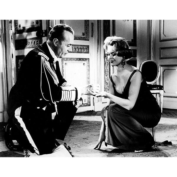 f3c975eb88c Film still featuring Brigitte Bardot and Charles Boyer in La Parisienne  Photo Print