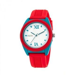 Crayo Praise Unisex Quartz Watch, Silicone Strap