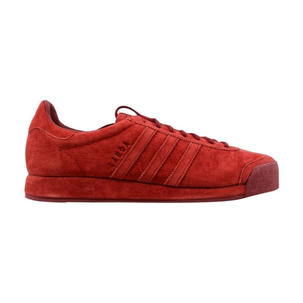 official photos 2e192 eea5a Adidas Samoa Vintage Mystery Red Pigskin Suede B39016 ...