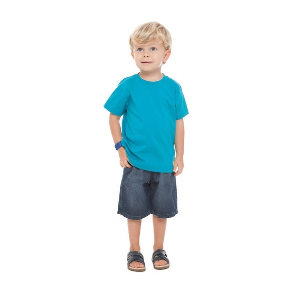 Toddler Boy T-Shirt Short Sleeve Little Boy Classic Tee Pulla Bulla 1-3 Years