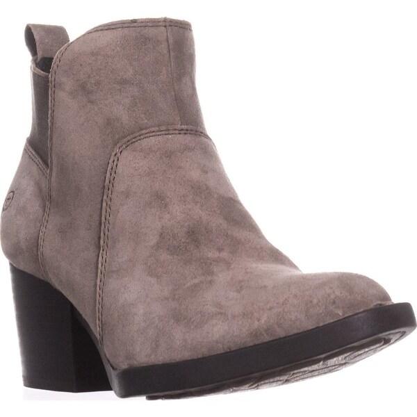 392da98b0d4 Shop Born Garcia Block-Heel Pull On Ankle Booties