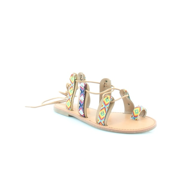 Pink & Pepper Garlan Women's Sandals & Flip Flops Yellow Multi - 11