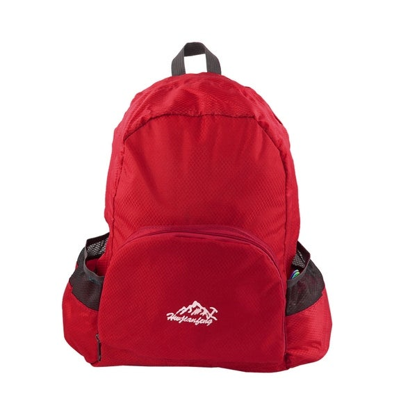 3de5e408169b HWJIANFENG Authorized Camping Foldable Travelling Bag Sports Backpack Red  20L