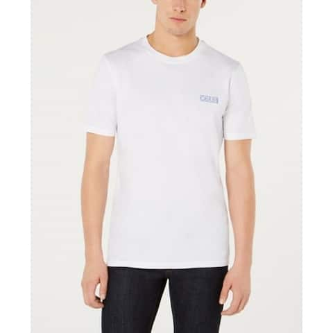 Hugo Boss Mens T-Shirt White Size Large L Logo Tee Short-Sleeve Crew