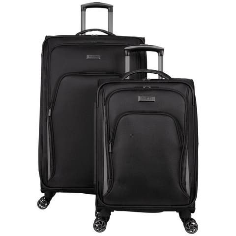 """Kenneth Cole Reaction """"Cloud City"""" 2-Piece 20 / 28"""" Lightweight Expandable 8-Wheel Spinner Luggage Set"""