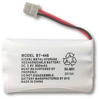 Replacement BT446 Battery for Uniden 5.8GHz TRU5860 / TRU9460 / TRU9585-2 Phone Models