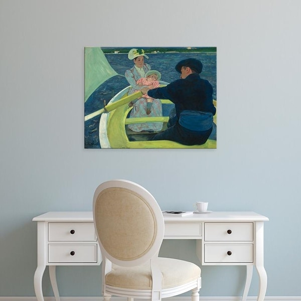 Easy Art Prints 's 'The Boating Party, 1893' Premium Canvas Art