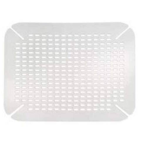 InterDesign 59060 Contour Sink Saver Mat, Clear