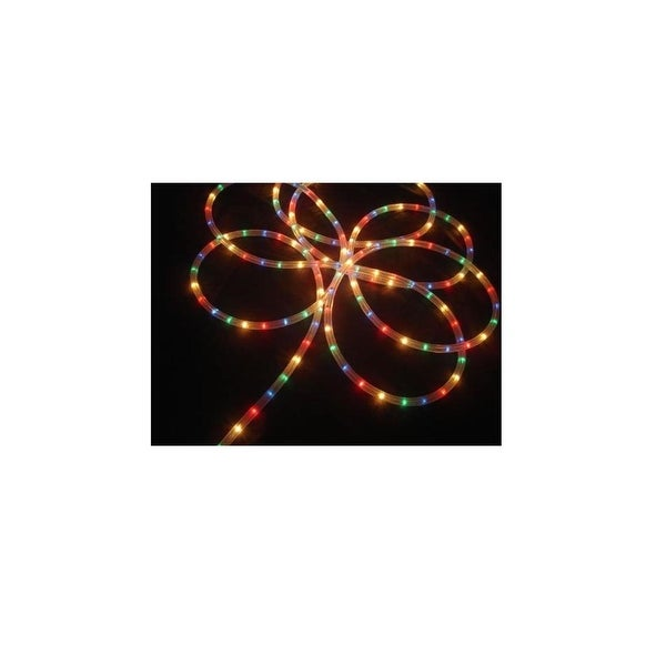 18' Multi-Color Indoor/Outdoor Christmas Rope Light Decoration