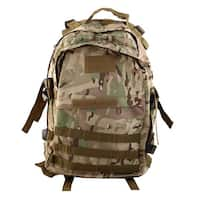 Unique Bargains Outdoor Mountaineering Camping Hiking Backpack Trekking Bag CP Camouflage Color
