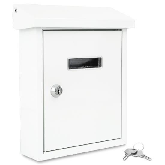 Indoor/Outdoor Wall Mount Locking Mailbox