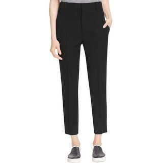 Vince Womens Casual Pants Faux Pockets Casual