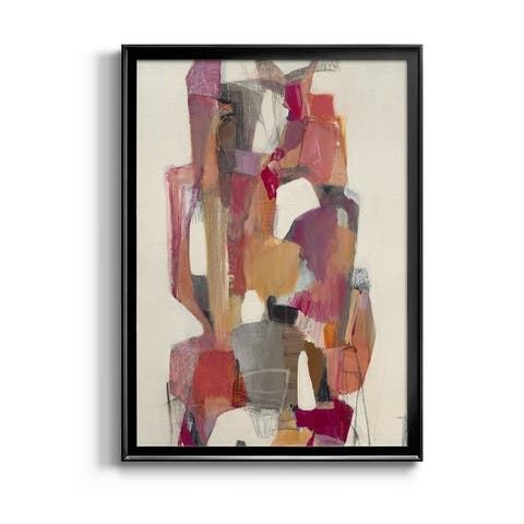 Totem At Sunrise Premium Framed Canvas - Ready to Hang