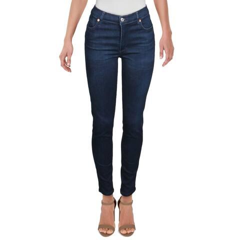 Citizens of Humanity Womens Rocket Skinny Jeans Denim Ankle - Nebu