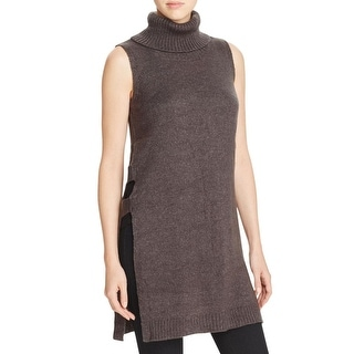 Design History Womens Pullover Sweater Cut Out Sleeveless