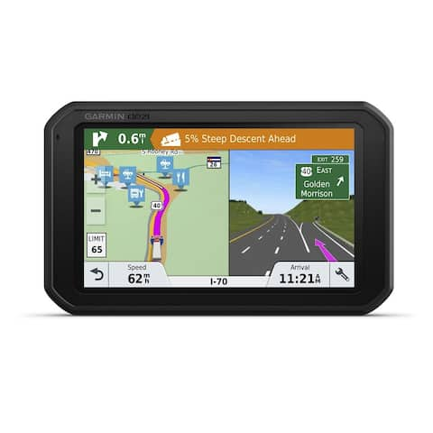 Garmin dezlCam 785 LMT with eLog Compliant ELD Trucking GPS Navigator - Black