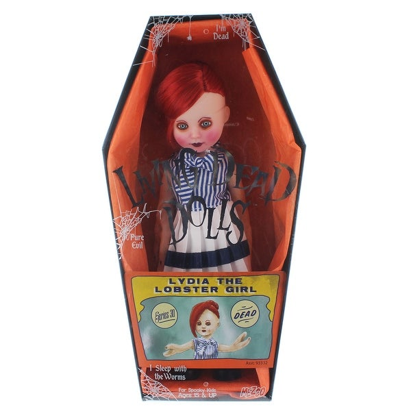Living Dead Dolls Series 30 Sideshow: Lydia the Lobster Girl