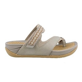 Bare Traps Womens Denni Fabric Open Toe Casual Slide Sandals (5 options available)