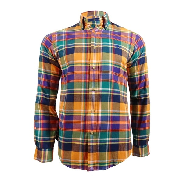 Size S Ralph Lauren Plaid Twill Shirt
