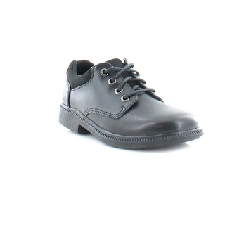 Clarks Deaton Time Tod Boys Casual Black