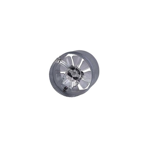 Canarm DA6S 255 CFM 2.4 Sone In-Line Boosted Duct Exhaust Fan - na