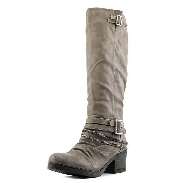 Carlos by Carlos Santana Candace Women Synthetic Brown Knee High Boot