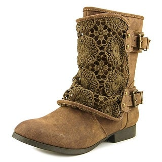 Tallulah Blu Chappie Women Brown Boots