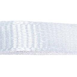 "White - Grosgrain Ribbon 5/8""X18'"