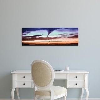 Easy Art Prints Panoramic Images's 'Tornado in the sky' Premium Canvas Art