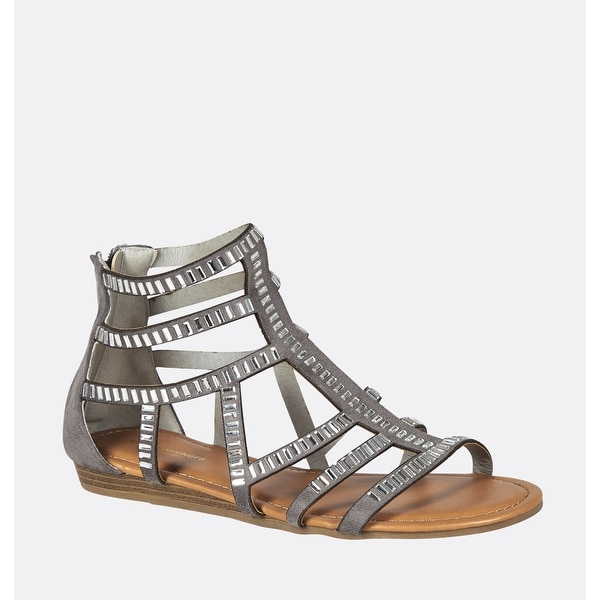 54021be51 Shop AVENUE Women's Kriss Studded Gladiator Sandal - Free Shipping ...