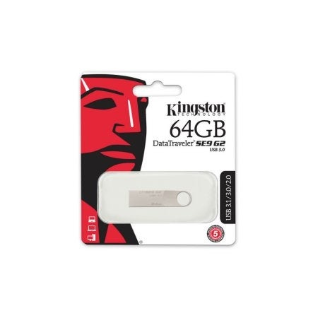 Kingston Dtse9g2/64Gb 64Gb Datatraveler Se9 G2 Usb 3.1 Gen 1 Flash Drive