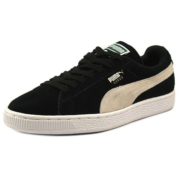 Puma Suede Classic Women Round Toe Suede Black Sneakers